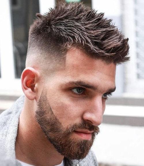 Fijador para pelo corto de punta