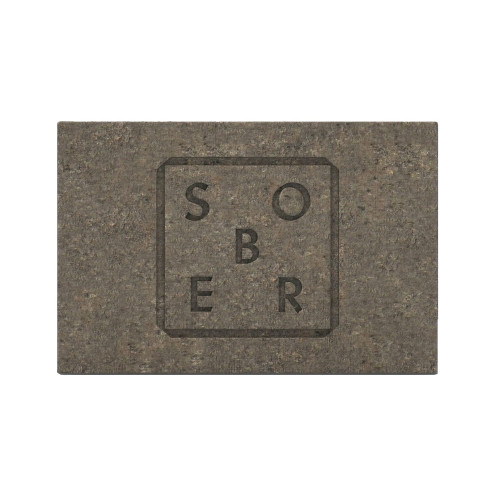 Jabón exfoliante natural para cara y cuerpo de Sober