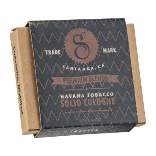 Colonia sólida Havana Tobacco (Recambio) de Suavecito Premium