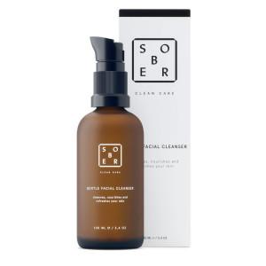 Limpiador facial 3 en 1, limpia, hidrata y refresca la piel de Sober