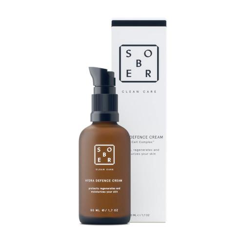 Crema hidratante facial, regenera, hidrata y protege la piel del rostro de Sober