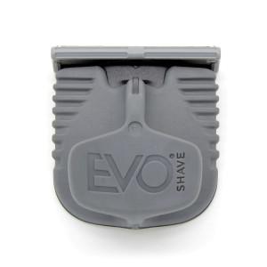 Cuchilla de afeitado con mango gris de EvoShave