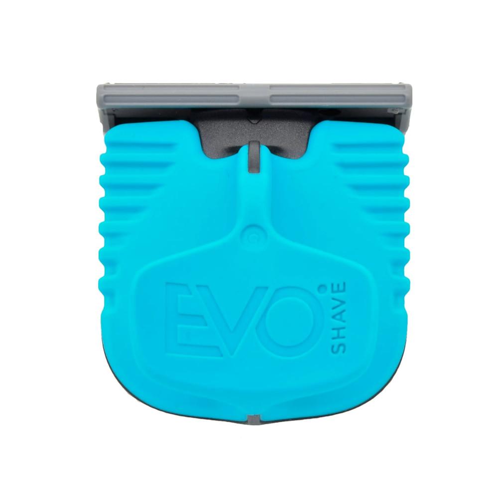 Cuchilla de afeitado con mango azul de EvoShave