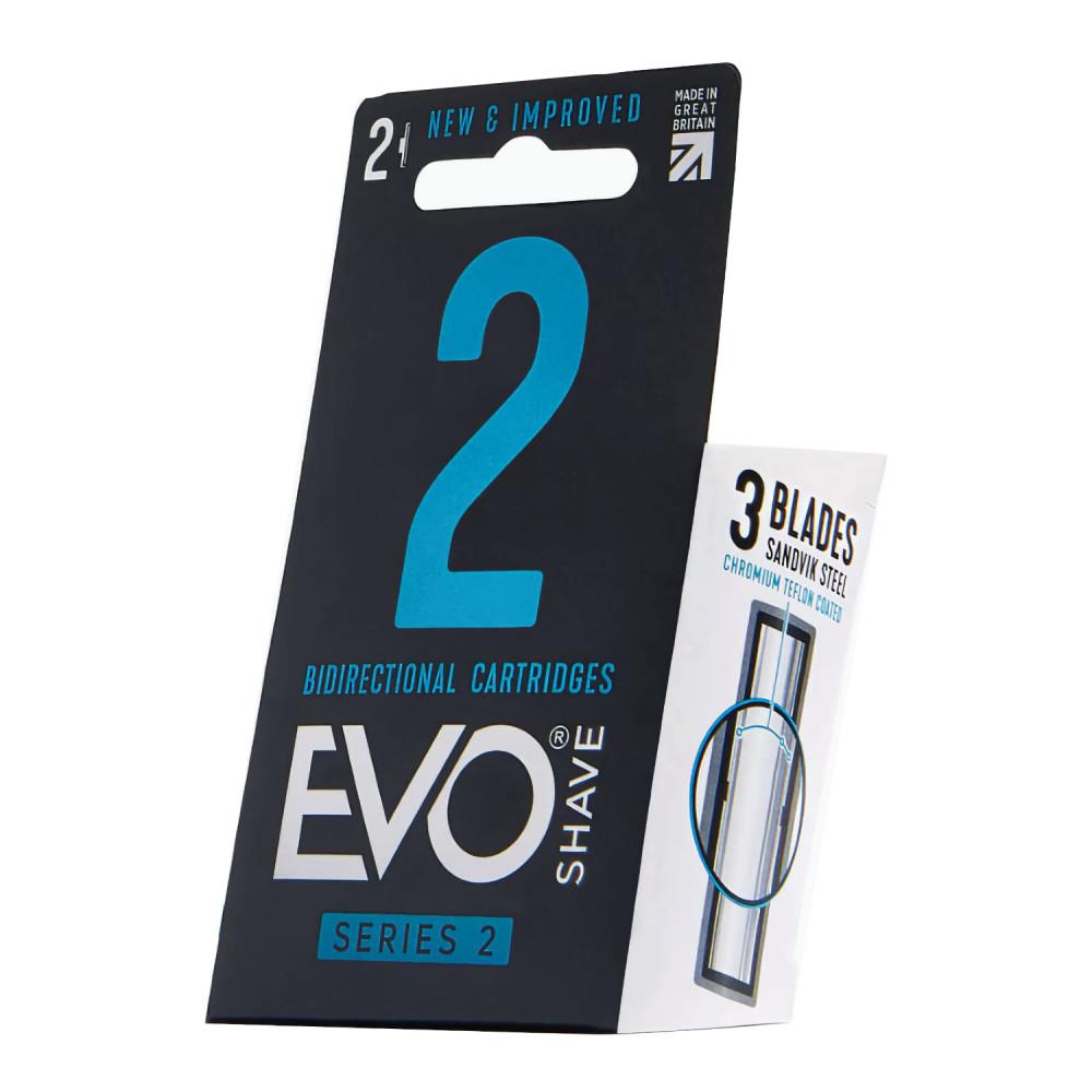 Recambio de cuchillas, pack 2 unidades de EvoShave