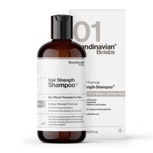 Chamú anticaída para fortalecer y limpiar el cabello de Scandinavian Biolabs
