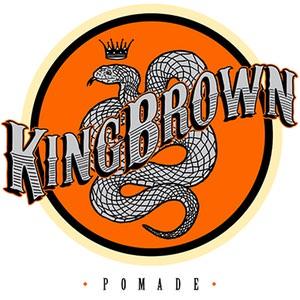 King Brown Pomade - Fijadores de cabello para hombre