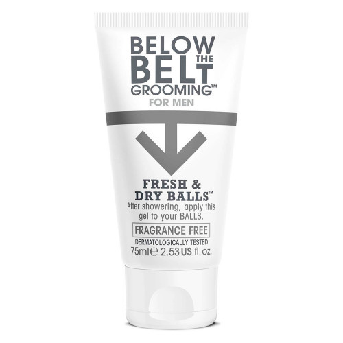 Desodorante íntimo Fresh & Dry Balls Sin Fragancia de Below the Belt Grooming