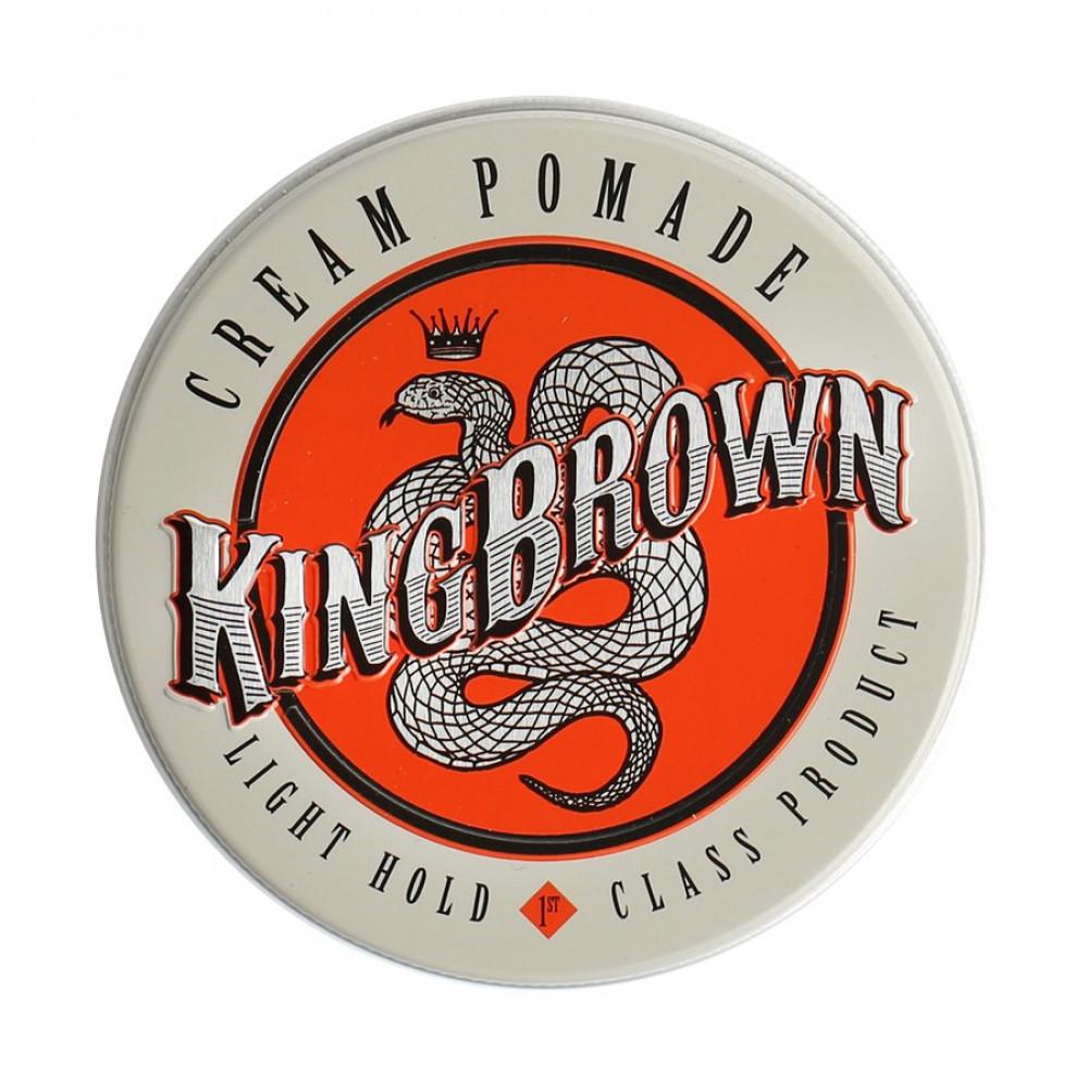 Crema fijadora Cream Pomade de King Brown Pomade
