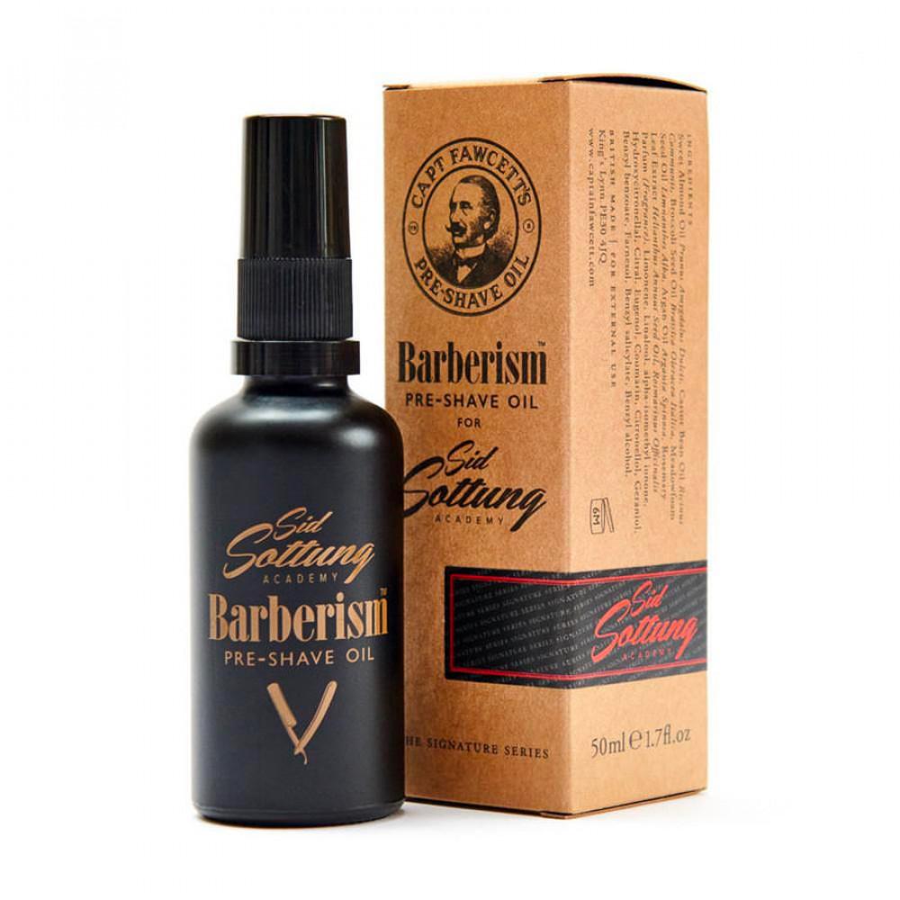 Aceite de afeitado Barberism de Captain Fawcett