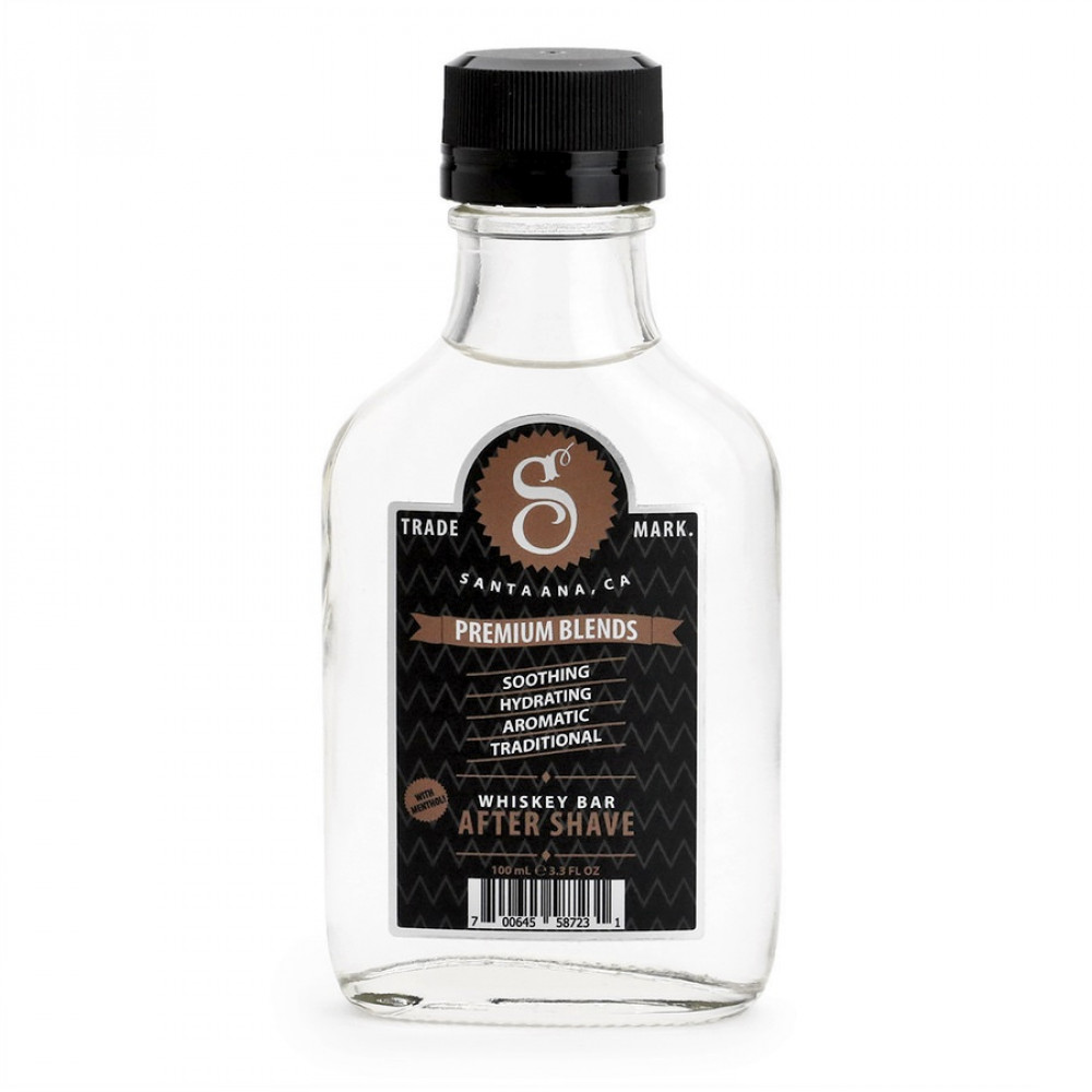 Aftershave Whiskey Bar de Suavecito Premium