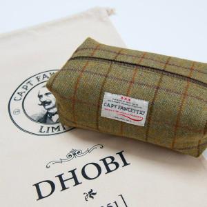 Neceser Tweed Wash Bag (CF.318) de Captain Fawcett