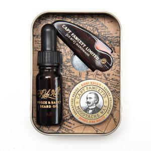 Kit para barba y bigote Survival Kit de Captain Fawcett