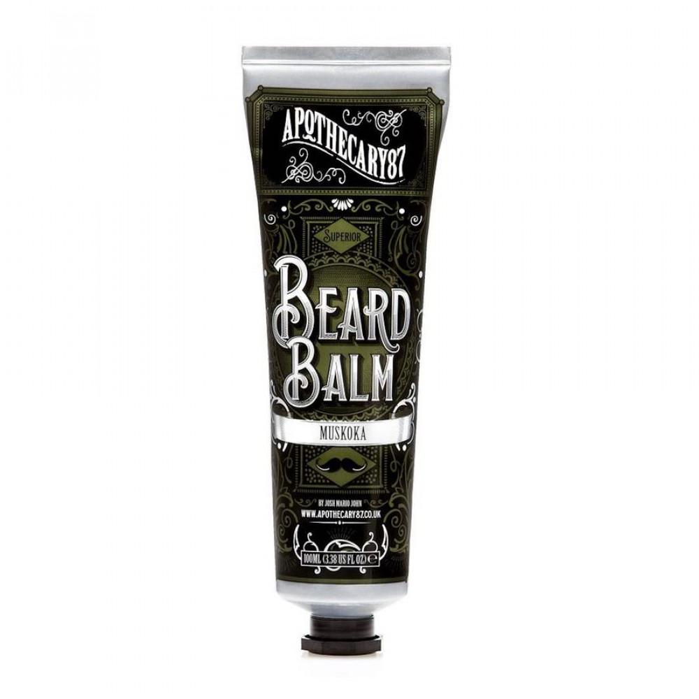 Bálsamo para barba Muskoka Beard Balm de Apothecary87
