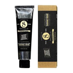 Crema de afeitar Eucalyptus & Tea Tree de Suavecito Premium
