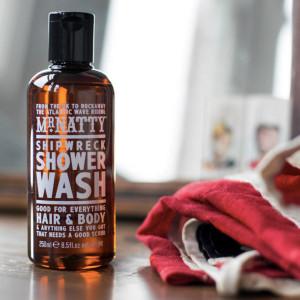 Jabón para todo el cuerpo Shipwreck Shower Wash de Mr. Natty