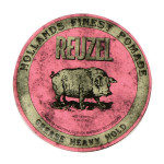Pomada fijadora Grease Heavy Hold de Reuzel, tamaño 113 g