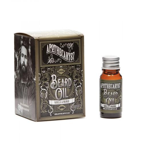 Aceite para barba Vanilla & MANgo de Apothecary87
