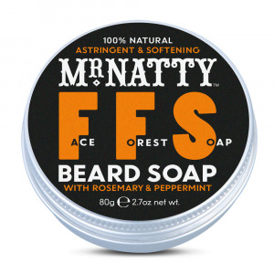 Jabón para barba Face Forest Soap (FFS) de Mr. Natty