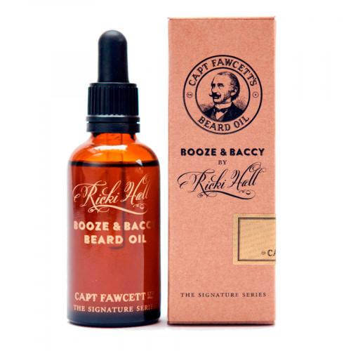 Aceite para barba Booze & Baccy de Captain Fawcett