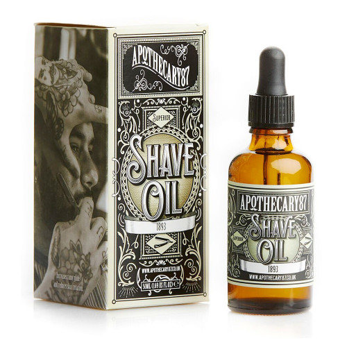 Shave Oil, an 1893 Fragrance