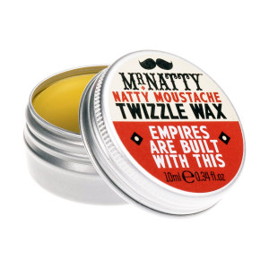 Cera para bigote Moustache Twizzle Wax de Mr. Natty
