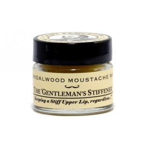 Cera para bigote Moustache Wax Sandalwood de Captain Fawcett