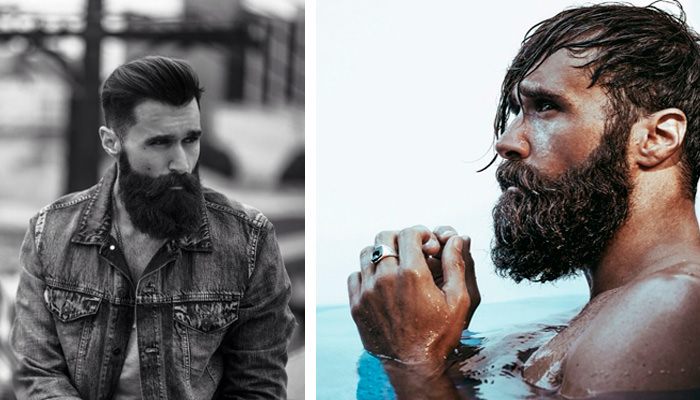 luke ditella barba modelo