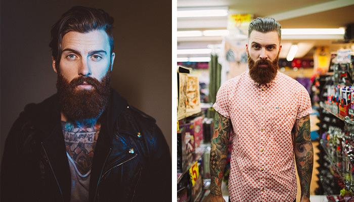 levi stocke modelo barba