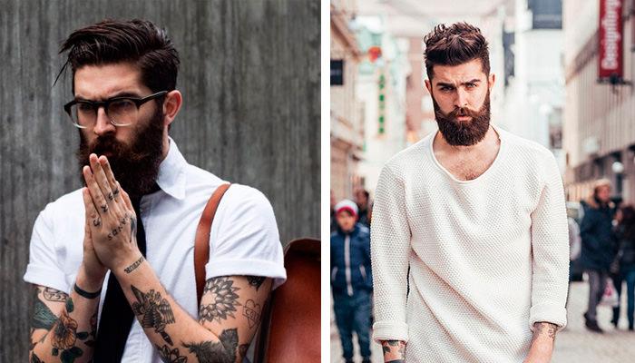 christopher millington modelo barba