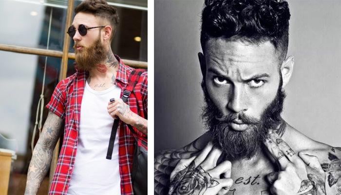 billy huxley modelo barba
