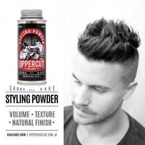 Polvo fijador Styling Powder de Uppercut Deluxe