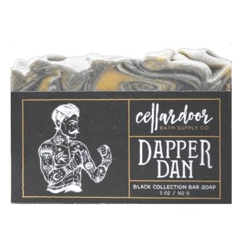 Jabón natural y vegano Dapper Dan de Cellar Door Bath Supply Co