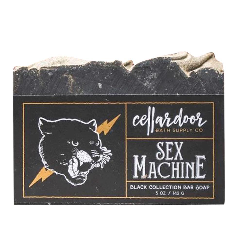 Jabón natural y vegano Sex Machine de Cellar Door Bath Supply Co