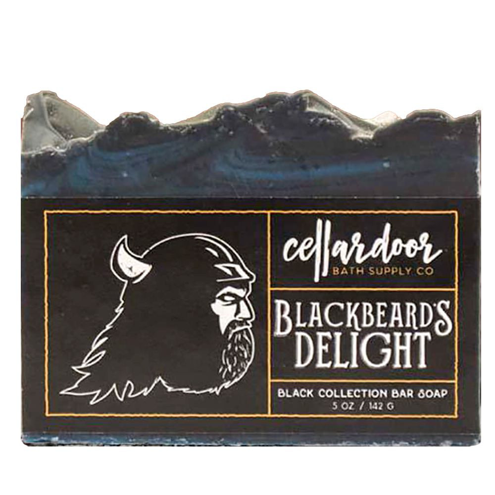 Jabón natural y vegano Blackbeard's Delight de Cellar Door Bath Supply Co