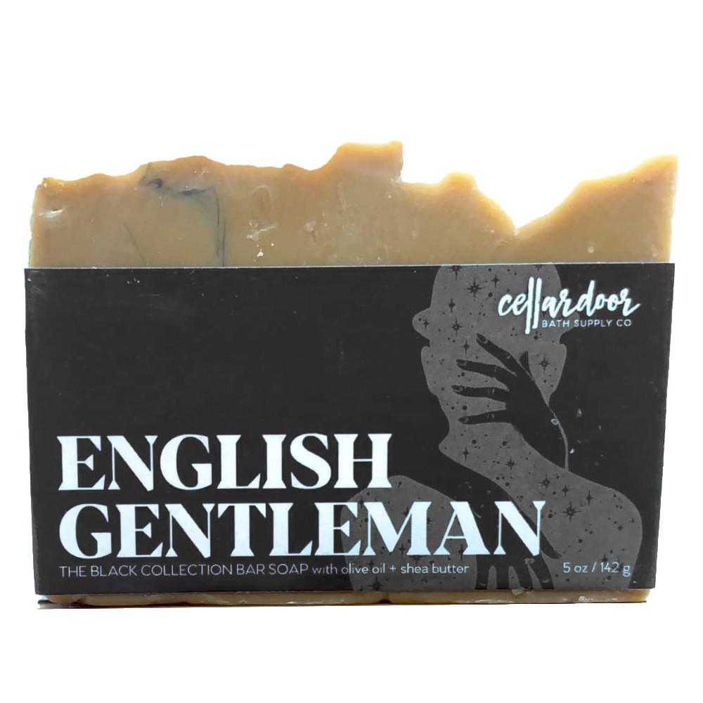 Jabón natural y vegano English Gentleman de Cellar Door Bath Supply Co