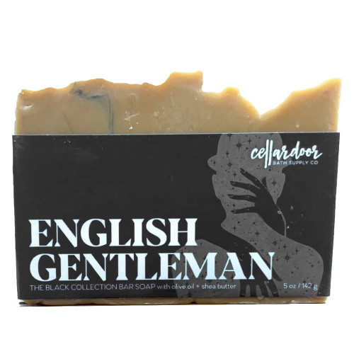 Jabón natural y vegano English Gentleman de Cellar Door Bath Supply Co