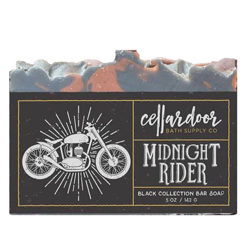 Jabón natural y vegano Midnight Rider de Cellar Door Bath Supply Co