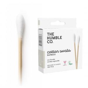 Bastoncillos para los oídos en bambú y algodón eco