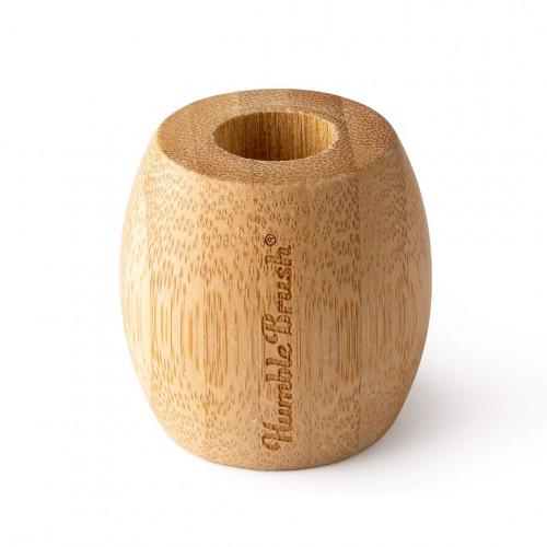 Soporte cepillo bambú de The Humble Co.