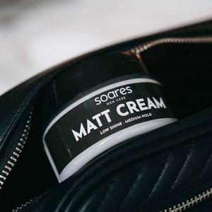 Crema fijadora Matt Cream de Soares Men Care