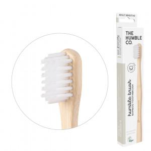 Cepillo de dientes extrasuave, hecho en bambú y nilón