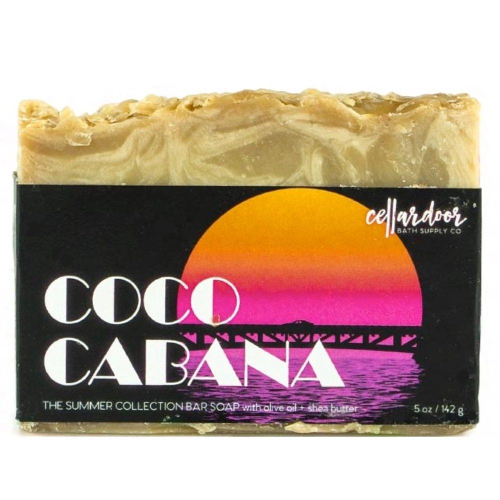 Jabón natural y vegano Coco Cabana de Cellar Door Bath Supply Co