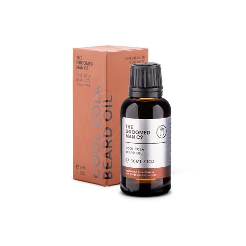 Aceite para barba Cool Cola Beard Oil de The Groomed Man Co