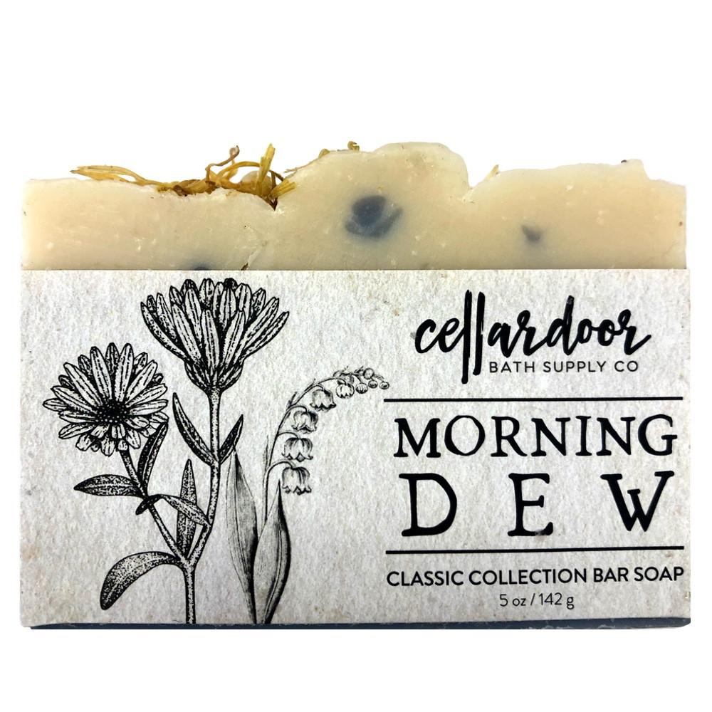 Jabón natural y vegano Morning Dew de Cellar Door Bath Supply Co