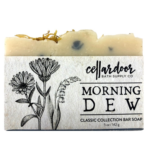 Jabón natural y vegano Morning Dew de Cellar Door Bath Supply Co