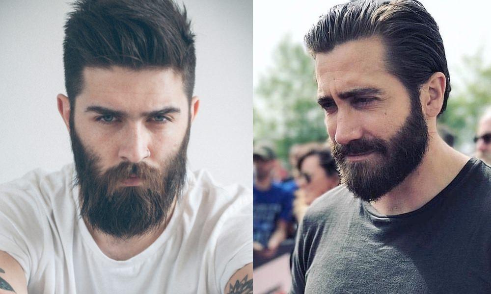 barba de oso o hipster, estilos barba larga