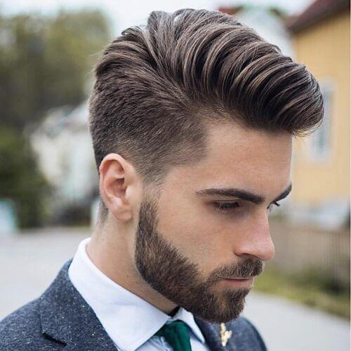 Fijador mate con volumen para copete o tupé en cabello medio